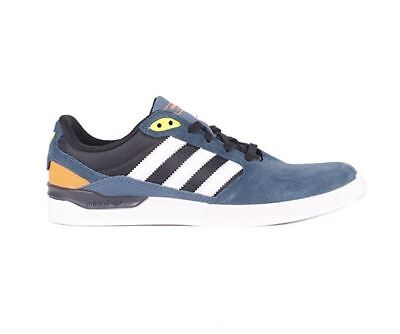 069c6d86b Adidas ZX Vulc Skate Shoe  Midnight Blue-White-Solar Yellow  SIZE 10.5