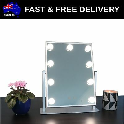 MakeUp Mirror with Lights Hollywood 9 LED's Vanity Beauty Salon Cosmetic Artist