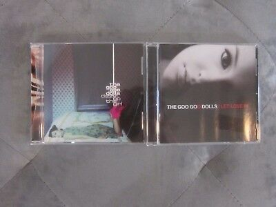 Lot of 2 Goo Goo Dolls CD's Dizzy Up The Girl Let Love In