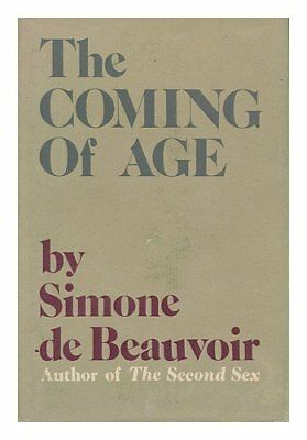 By Simone de Beauvoir The Coming of Age (1st First Edition) [Hardcover]