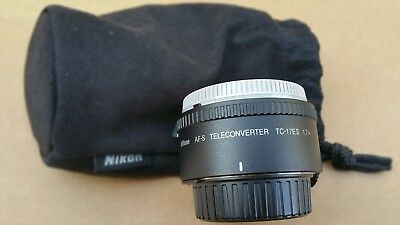 Nikon TC-17E II AF-S Teleconverter 1.7X MINT Condition, BARELY USED!