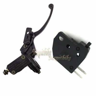 7/8'' Hydraulic Right Handle Lever +Switch For 50-250cc Chinese ATV Taotao Sunl