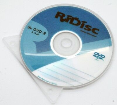 8 Disc Mixed Pack of DVD-R 4.7GB (RiDisc and Kodak Brands) Media Disc Pc, Laptop