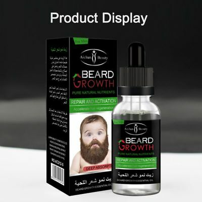 Natural Organic Growth Elixir Beard Oil Leave-in Conditioner Beard Hair Care Oil