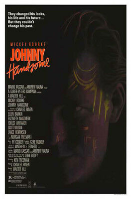Johnny Handsome (1989) original movie poster single-sided rolled