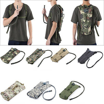 3L Lightweight Water Bladder Bag Hydration Backpack Camping Hiking Cycling Pack