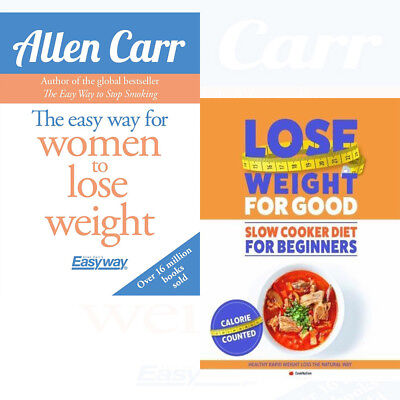 How To Lose Weight For Good Slow Cooker 2 Books Collection Easy Way for Women