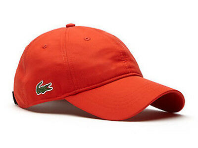 Lacoste Sport Dry Fit Cap - Etna Red