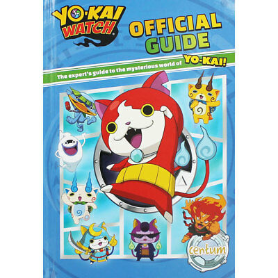 Yo Kai Watch - Official Guide (Hardback), Children's Books, Brand New