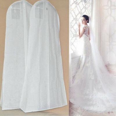 Extra Large Garment Bridal Gown Long Clothes Protector Case Dustproof Covers
