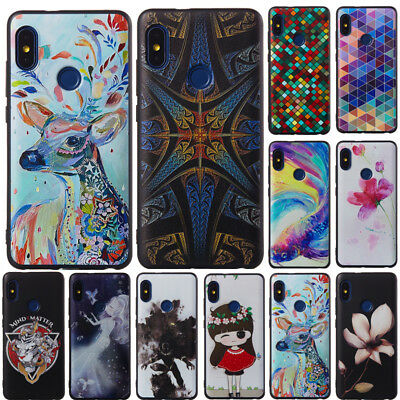 For Xiaomi Redmi Note 6 Pro 3 4X 5 Plus Silicone Soft TPU Painted Case Cover
