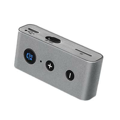 Wireless Bluetooth Adapter 3.5mm Aux Audio Music Receiver Stereo Car TF