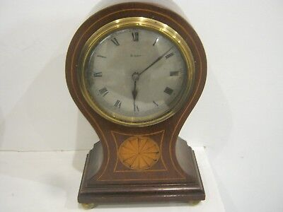 Inlaid Victorian Clock made in France