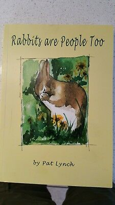 Children's book Rabbits are people too.