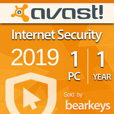 Avast Internet Security 2019 [1 PC] [180 Tage] - VOLLVERSION