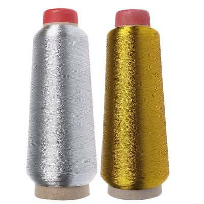 Gold/Silver Finest Quality Sewing All Purpose 100% Polyester Thread Reel 150D