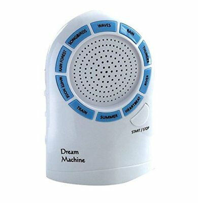 White Noise Machine Sleep Dream Therapy 10 Soothing Nature Sounds Aid Calm Night