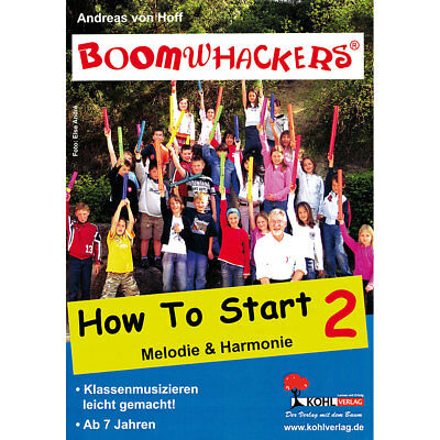 Lehrbuch Kohl Boomwhackers How to Start 2 Musik Buch NEU