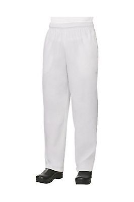 Baggy White Chef Pants size Large