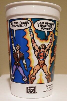 1985 Burger King He-Man Masters of the Universe 5'' Plastic Cup
