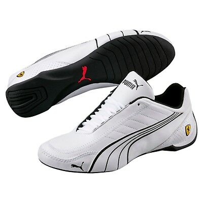 26aa4ee8a04c Nib Mens Puma Ferrari Sf Future Cat Kart White Motorsport F1 Racing Sneaker  Shoe
