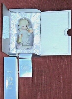 Precious Moments 1994 Growing In Grace Age 5 Girl 136247 In Box! FREE SHIPPING!