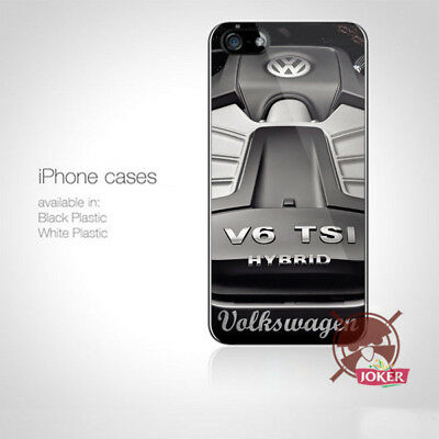 Vw Engine Car Racing iPhone 5 5S 5C 6 6S 7 7S 8 8S Plus X Case Cover