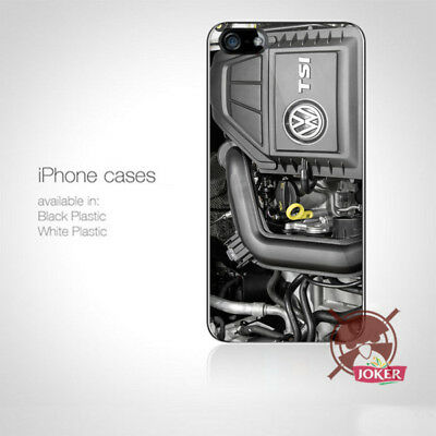 New VW Engine Car Racing iPhone 5 5S 5C 6 6S 7 7S 8 8S Plus X Case Cover