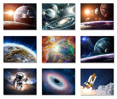 Space wallpaper planets solar system rocket ship Wall Mural Photo Astronaut