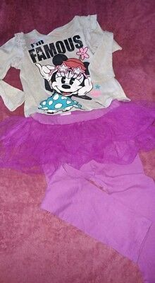 Girl's 4T Minnie Mouse outfit