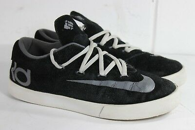 207921b88fab NIKE KD VULC Shoes Sneakers Black Silver 642085-001 Size 6Y -  16.49 ...