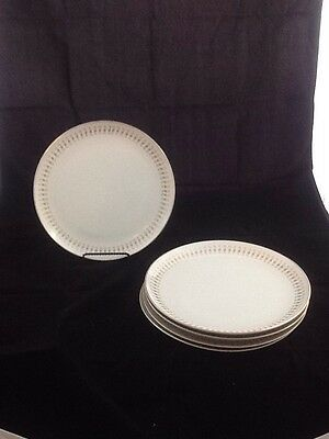 "ACI Fine China Durant #8102 Set of 5 10"" Dinner Plate"