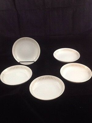 ACI Fine China Durant #8102 Set of 5 Berry or Dessert Bowls