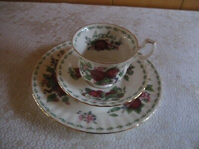 Royal Albert, Kaffeegedeck/Sammeltasse, Bone-China Porzellan, Dekor: Apples