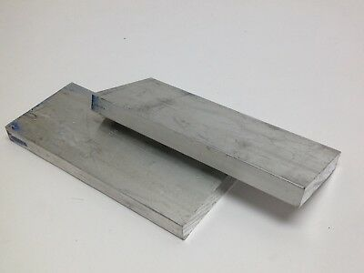 2 PC 6 x 2-1/2 x 1/2 Aluminum Solid Bar Stock Scrap Metal Material Tooling 1 lb