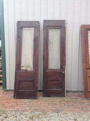 Vintage Victorian Oak ?? Front Double Doors~~OHIO-PICK-UP~~ONLY!!
