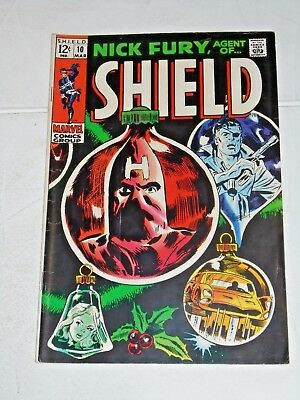 Nick Fury Agent Of Shield #10 comic (VG+)