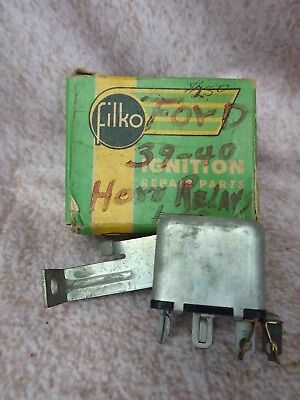 New Old Stock USA made FORD & MERCURY 6-VOLT HORN RELAY 1937 1938 1939 1940 COUP