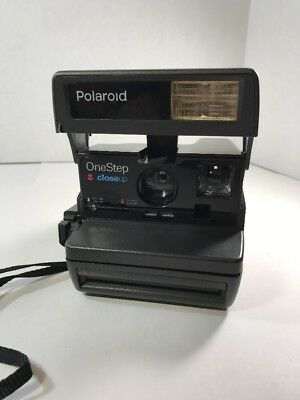 POLAROID Instant One Step Close Up 600 Film Camera Tested & Works
