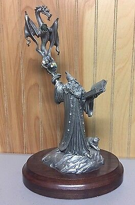 "Perth Pewter ""Spell of the Dragon"" by Ray Lamb with COA 1264/2500"