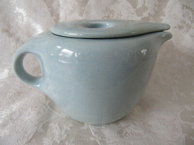 Russel Wright Casual by Iroquois China Company - Coffee Pot - Ice Blue Color