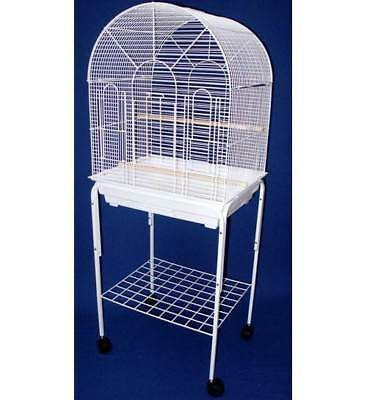 Small Bird Cage w Round Top, Stand [ID 1011928]