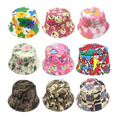 Lovely Baby Sun Caps Infant Flower Hat Bucket Hat Kids Girls Summer Cap KU