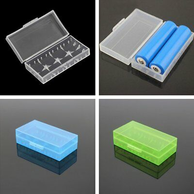 2/5/10X Hard Plastic Cover Holder 4*18650 Battery Storage Protective Case Box KU