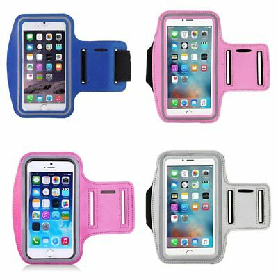 Sports Running Jogging Gym Armband Arm Band Holder Cover Case For iphone Samsung
