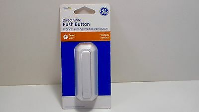 GE 25443, Direct Wire Push Button Doorbell Replacement - Wiring Needed