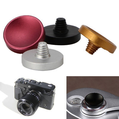 Metal Concave Soft Shutter Release Button For Cameras Fuji X20 Leica M7 M9 SLR