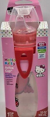 Silicone Nuk Hello Kitty Spout Active Sippy Cup BPA Lead Latex Phthalate Free