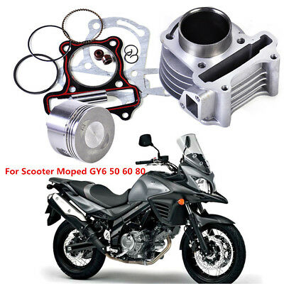 Big Bore Kit Cylinder Piston Rings for Scooter Moped ATV GY6 50/60/80cc 139QMB