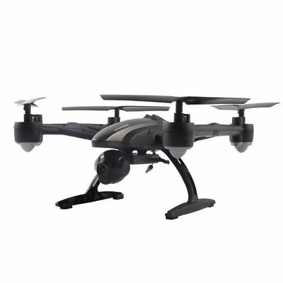 JD509 FPV 2.4Ghz 4CH RC 6-Axis Quadcopter Drone with 2MP HD Camera RTF UFO